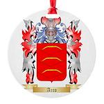 Arco Round Ornament