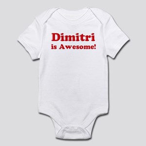 Dimitri is Awesome Infant Bodysuit