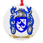 Archimbeaud Round Ornament