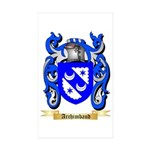 Archimbaud Sticker (Rectangle 50 pk)