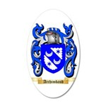 Archimbaud 35x21 Oval Wall Decal