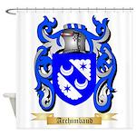 Archimbaud Shower Curtain