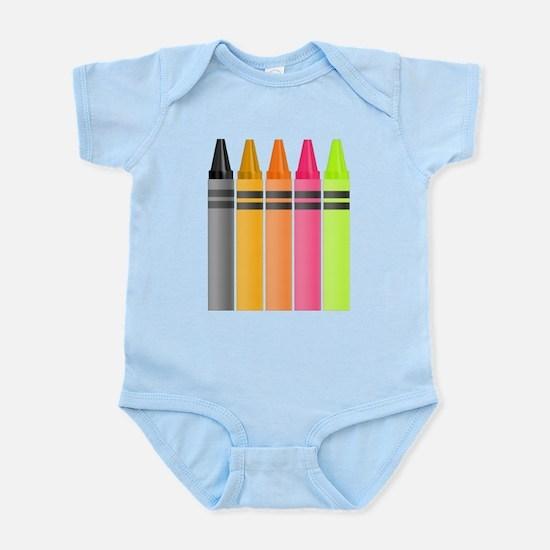 Crayons Infant Bodysuit