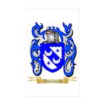 Archibould Sticker (Rectangle 10 pk)