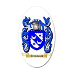 Archibould 20x12 Oval Wall Decal