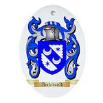 Archibould Ornament (Oval)