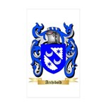 Archibold Sticker (Rectangle 10 pk)