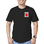 Archetto Men's Fitted T-Shirt (dark)