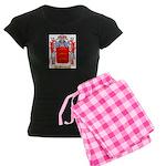 Archetto Women's Dark Pajamas