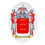 Archetto Ornament (Oval)