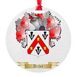 Archer Round Ornament