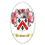 Archer Sticker (Oval 50 pk)