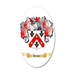 Archer 20x12 Oval Wall Decal