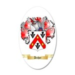 Archer 35x21 Oval Wall Decal