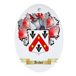 Archer Ornament (Oval)