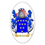 Archer (Warwick) Sticker (Oval)