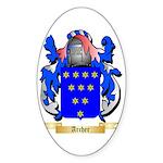 Archer (Warwick) Sticker (Oval 10 pk)