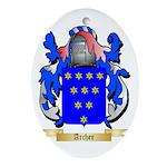 Archer (Warwick) Ornament (Oval)