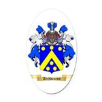 Archdeacon Oval Car Magnet
