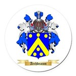Archdeacon Round Car Magnet