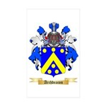 Archdeacon Sticker (Rectangle 50 pk)