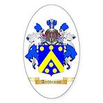 Archdeacon Sticker (Oval 50 pk)