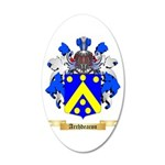 Archdeacon 20x12 Oval Wall Decal