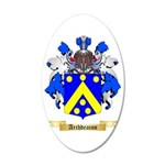 Archdeacon 35x21 Oval Wall Decal