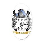 Archbold 2 Oval Car Magnet