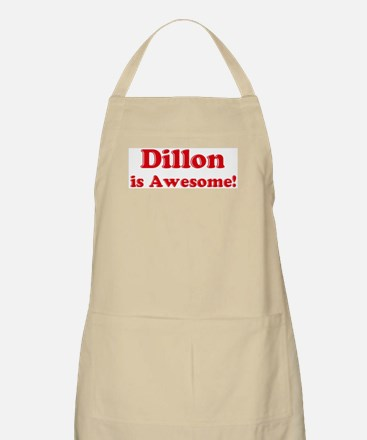 Dillon is Awesome BBQ Apron