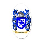 Archbell Oval Car Magnet