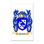 Archbell Rectangle Car Magnet