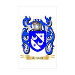 Archbald Sticker (Rectangle 50 pk)