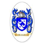 Archbald Sticker (Oval 50 pk)