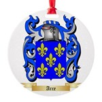 Arce Round Ornament