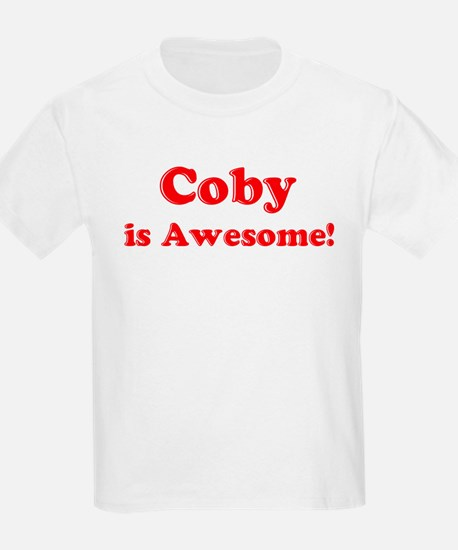 Coby is Awesome Kids T-Shirt