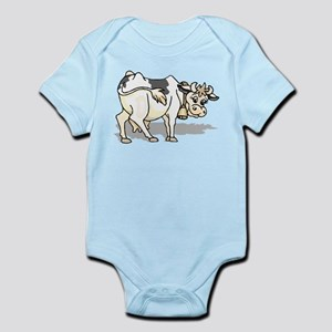 Dairy Cow Infant Bodysuit