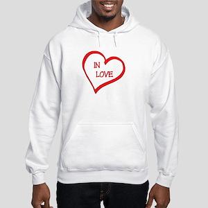 In Love Hooded Sweatshirt