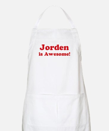 Jorden is Awesome BBQ Apron