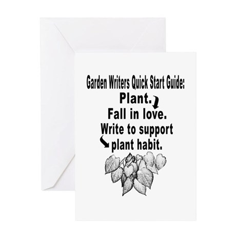 Garden Writers Quick Start Guide Greeting Card
