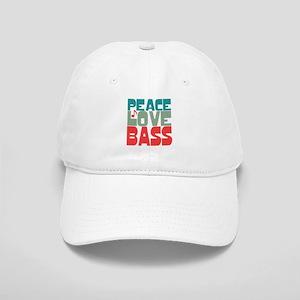 Peace Love Bass Cap