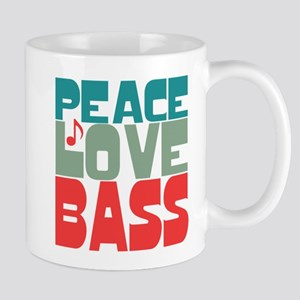 Peace Love Bass Mug