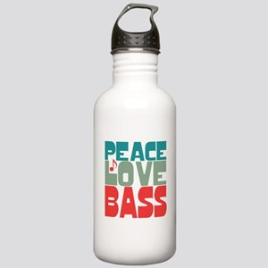 Peace Love Bass Stainless Water Bottle 1.0L