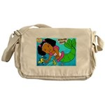 Ezo the Little Mermaid Messenger Bag