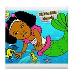Ezo the Little Mermaid Tile Coaster