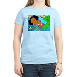 Ezo the Little Mermaid Women's Light T-Shirt