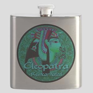 Cleopatra Reincarnated Emerald Carpet Flask