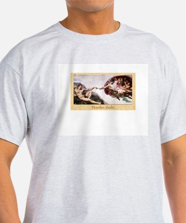 Creation of Knitting T-Shirt