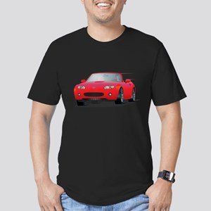 Japanese Cute Roadster Men's Fitted T-Shirt (dark)