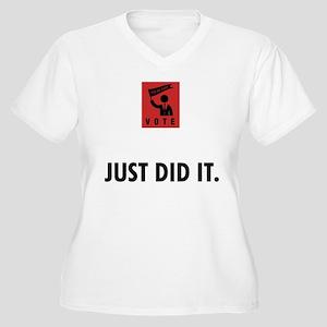 Politician Women's Plus Size V-Neck T-Shirt